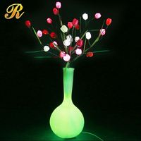 Latest artificial flower candle rings