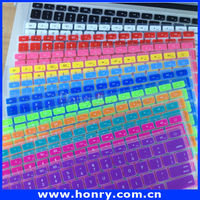 Flexible Silicon Keyboard Cover for Apple Mac for Macbook Air Pro 13 15