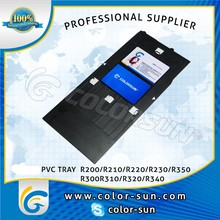 pvc id card tray for Epson R230 R300
