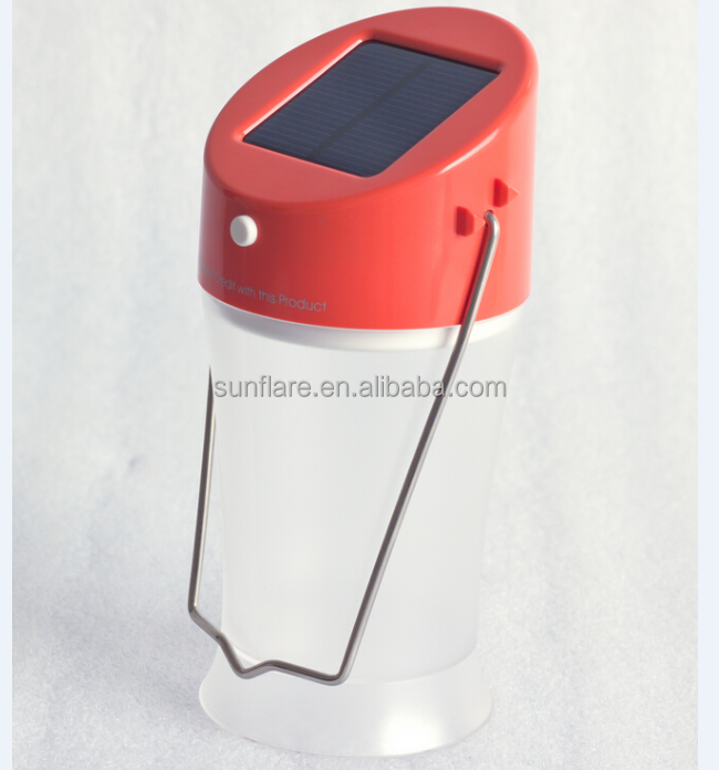 rechargeable and emergency led solar camping lantern with <strong>CE</strong>&ROHS
