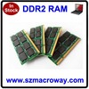 Bulk packing lifetime warranty Ddr2 Notebook Ram 800mhz 2gb Memory
