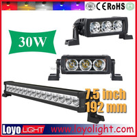 aluminum profile led track light 30w for off road motorcycle car suv ip67 offroad led working light for tractor