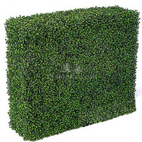 TKAQ-01 Indoor&Outdoor Artificial Boxwood Hedge/fake boxwood hedge wall