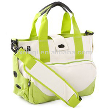 wholesale new fashion customized canvas diaper tote bag