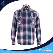 Oem Cheap fashionable cotton plaid new pattern shirts