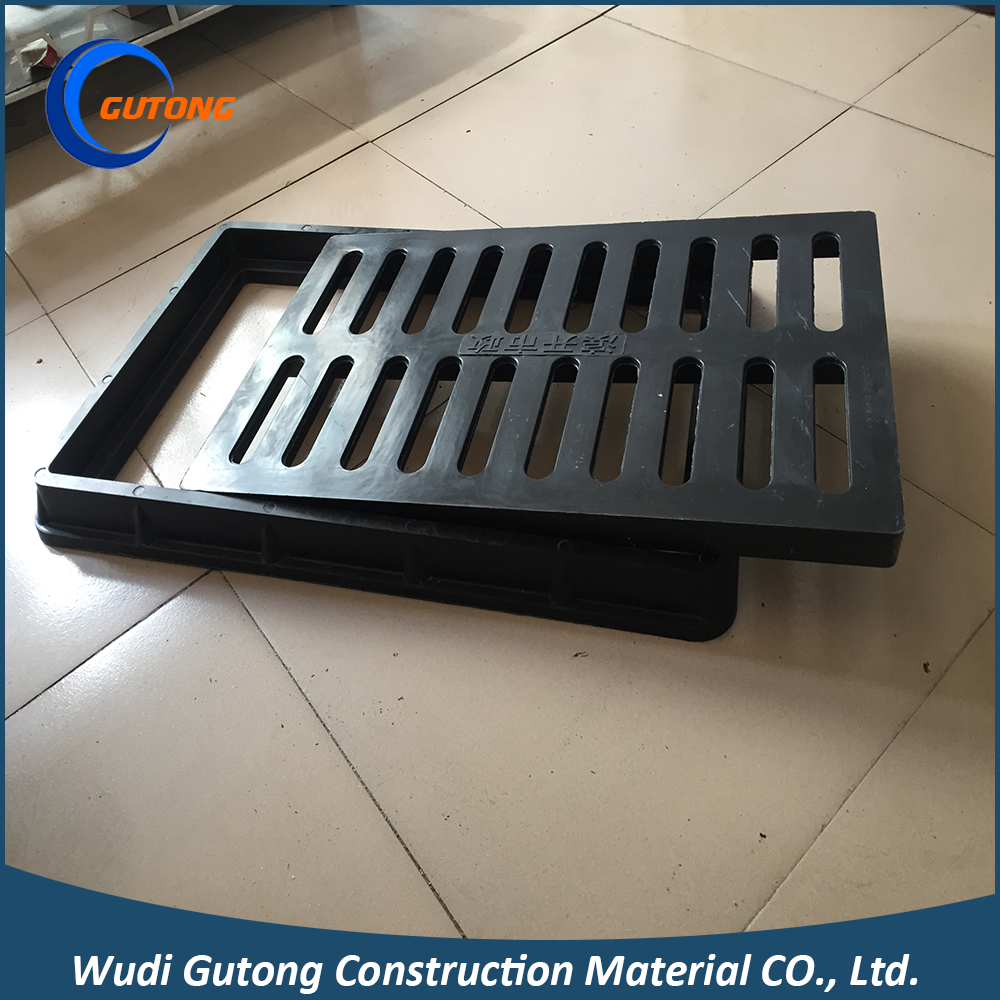 EN124 Lightweight Anti-rust Drainage Gully Trench Grates Cover Square