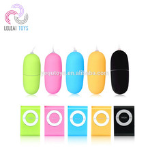 2018 Most popular adult supplies Blue MP3 Sex Toy eggs vibrator for girls