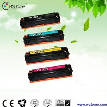 Free Sample!!New Compatible color toner cartridge for HP CB540/541/542/543 color laser printer