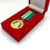 20 years China manufacturer zinc alloy gold medal with soft cloisonne