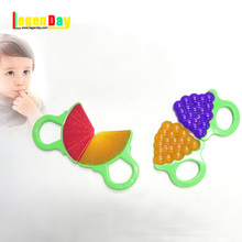 Latest Design Bpa Free Food Grade Silicone Teether Baby Teether Toy