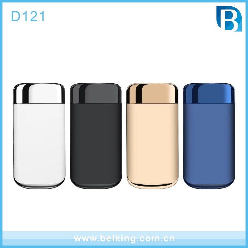 High Capacity Universal Portable 10000mAh Power Bank, Dual USB Power Charger For Smartphone