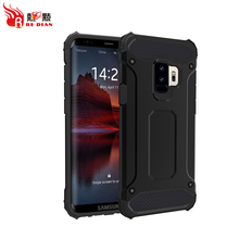 New shockproof armor case for samsung s9 ,for samsung galaxy s9 protective black case