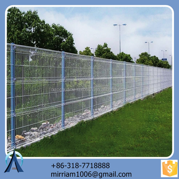 Made in China hot sale Hot dip anti climb 358 fence / 3d green metal fence anti climb 358 fence / welded anti climb 358 fence