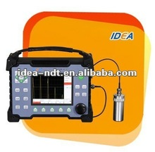 Portable ultrasonic new pipe welding inspection system designed to replace X-ray