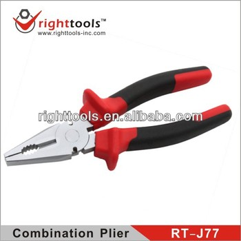 RIGHTTOOLS RT-J77 HIGH QUALITY Best design hand tools /combination pliers