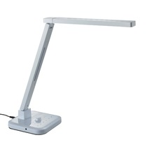 Oriental Style adjustable office working desk lamp led bluetooth with bluetooth mini speaker USB four CCT five level brightness