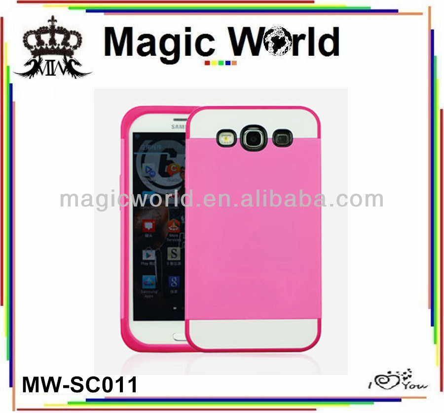 CARD PORKET SILICONE PC PHONE CASE FOR SAMSUNG GALAXY S3