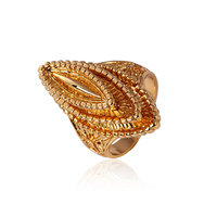 11122-xuping luxury copper jewelry with gold plated ring turkish jewelry