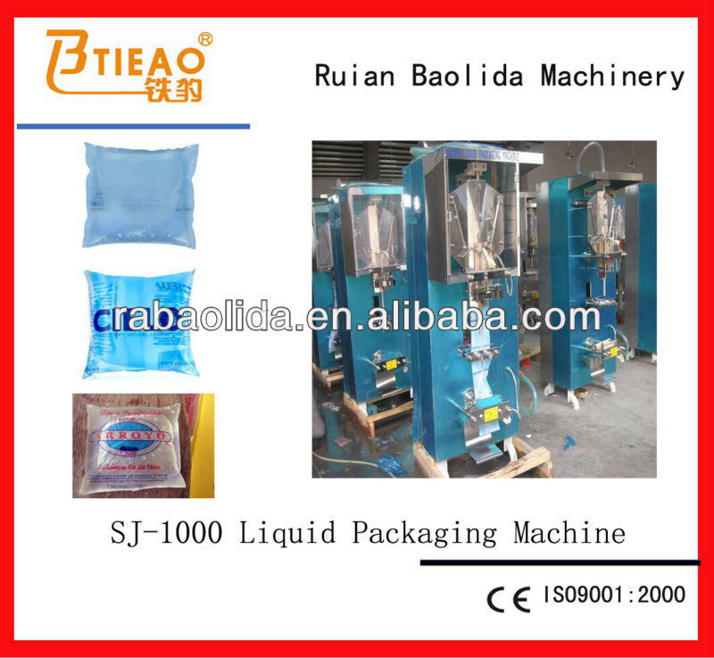 SJ-1000 Automatic Small Vertical Form Fill Seal Machine for Liquid