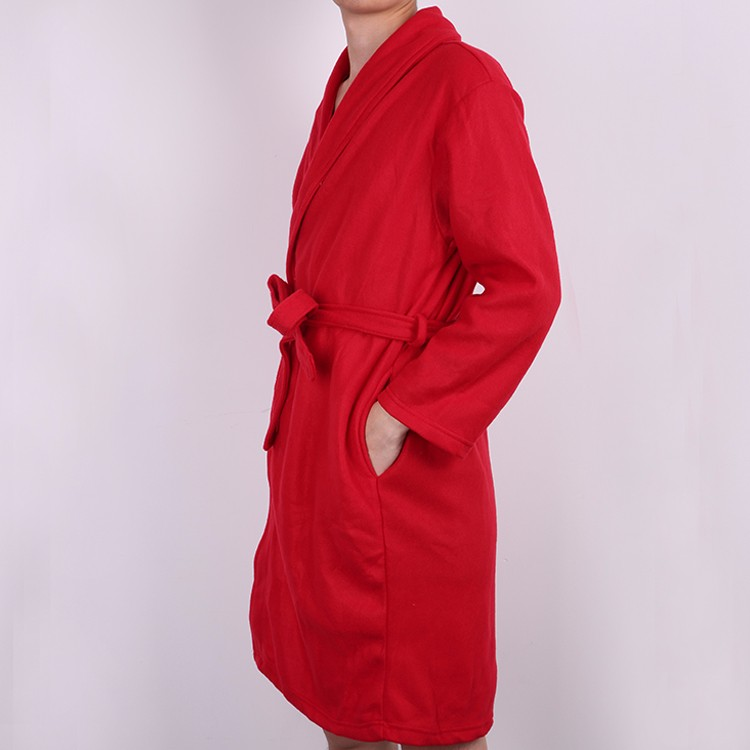 New Fashion Colorful Slim 100 Cotton Cheap Hotel Terry Bathrobe