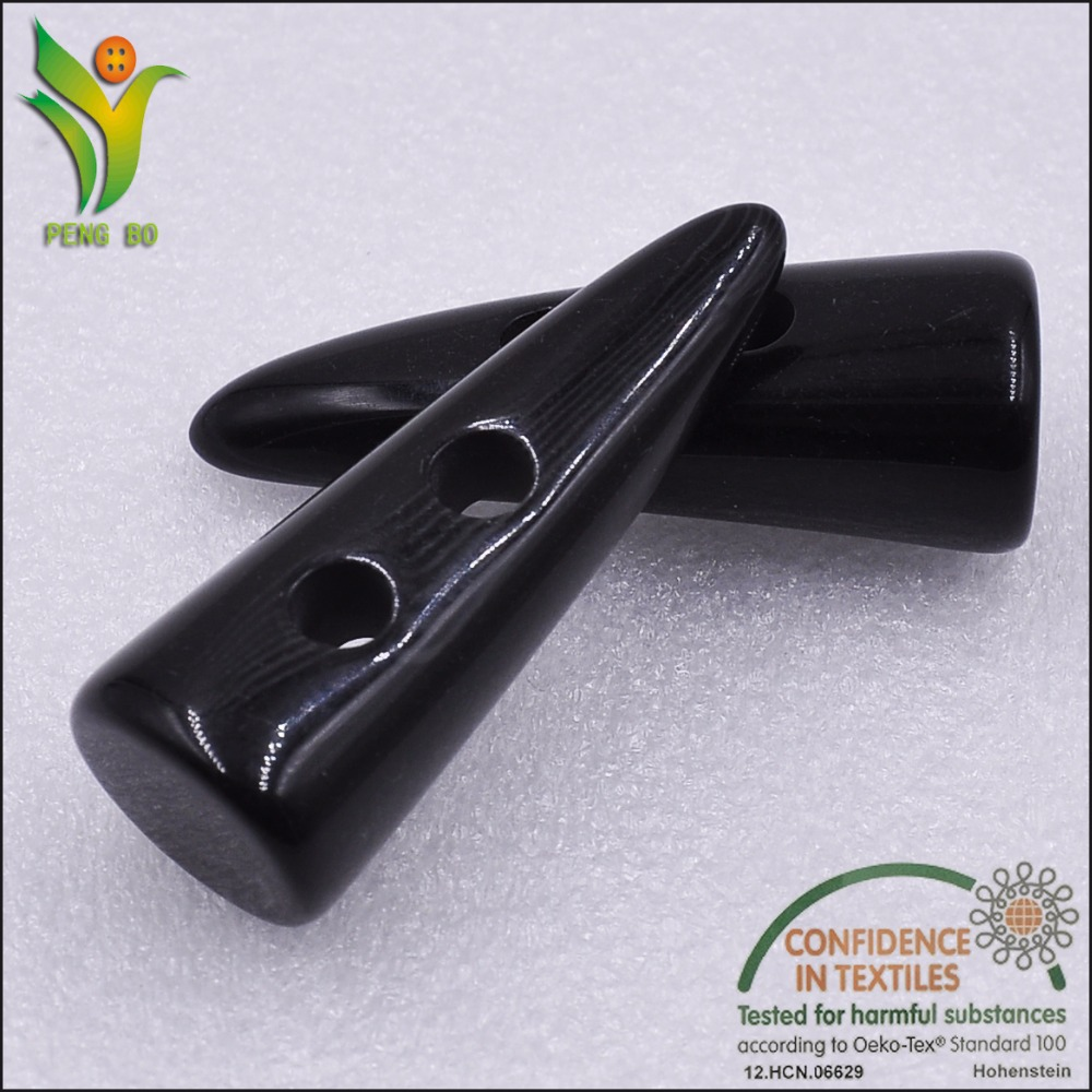 N003 cheap best selling resin toggle button for clothing