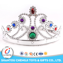 Hot sale Christmas fashion silver queen princess crown for girls