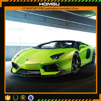 V style design carbon fiber body kit for lamborghini aventador LP700-4 Roadster Convertible 2-