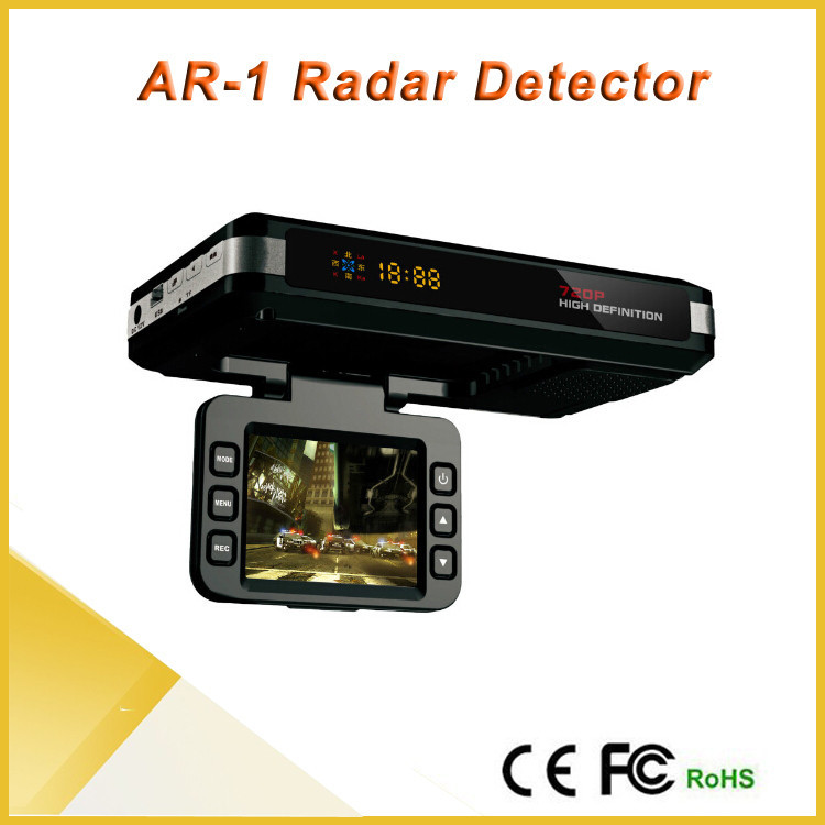 Hot Sale Multi Language Full hd Car Anti Speed Radar Detector Camera