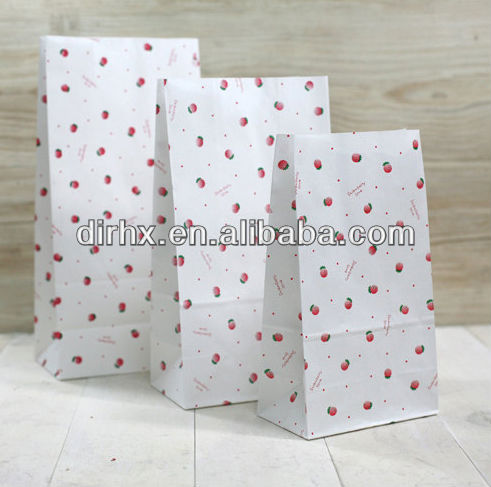 Multicolor Eco-friendly Food Packaging Safety Kraft Paper Tea Bags Shopping Gift Bags Favor Hand Bags