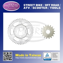 MOTORCYCLE TEETH REAR SPROCKET For YAMAHA YZ250 P,R,S 02-04 S45C 49