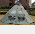 2018 Factory sell8persons 5m Indian Teepee Tent