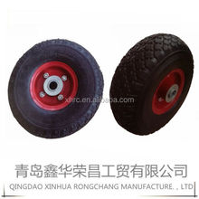 small 7 inch rubber pneumatic trolley wheels/tires2.50-4