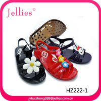 Fashion pvc child sandal shoes for kids confortable footwear for children