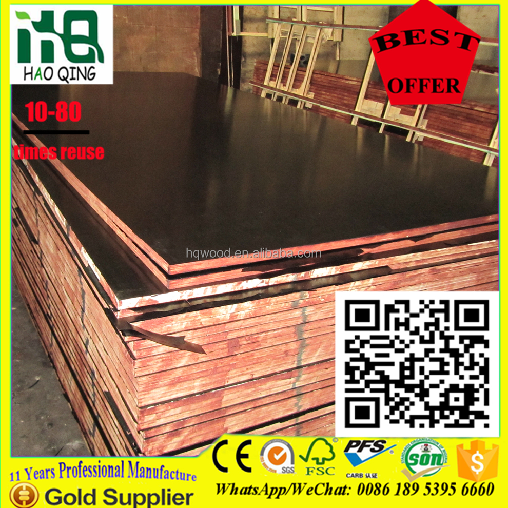 linyi 18mm timber frame construction plywood,timber used for construction,civil construction