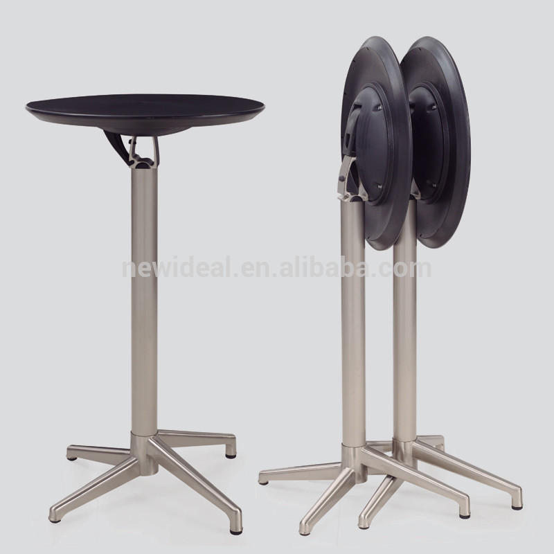 ABS plastic folding cocktail table ( NH890 )