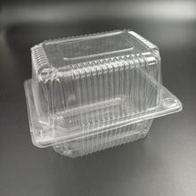 Disposable blister plastic cake packaging box