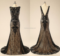 2015 Sexy Lady Special Occasion Real Photos Black Lace Crystals Long vestido de fiesta Pageant Evening Dresses