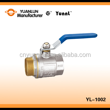 Forged Brass Made Stainless Handle Mm Mini Ball Valve For House Water Pipe