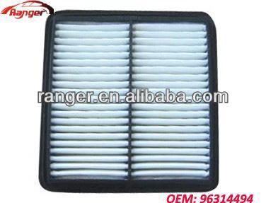 96314494 good quality cheap price DAEWOO Chevrolet air filter