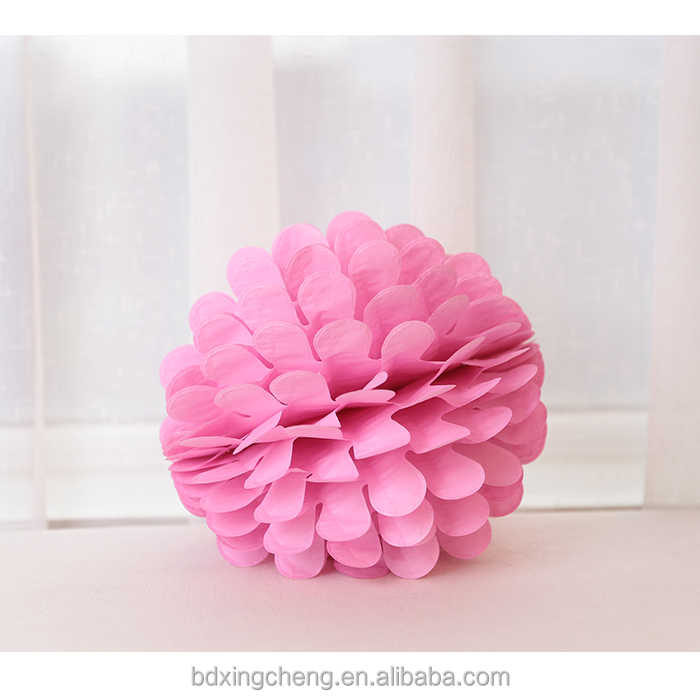 Valentine's day diy hanging paper flower ball decorations for wedding