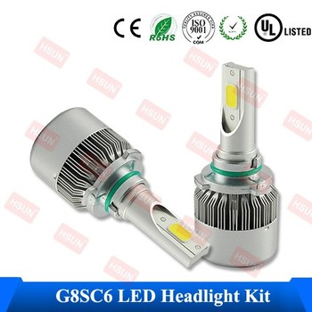 Wholesale h4 car led headlight kit 12v auto led lamp best price h7 led auto headlamp kit h8 h10 h11 h13 9004 9005 9006 9007 led