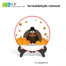 Hot sale Chinese factory made home decor type Thanksgiving turkey pumpkins decorations