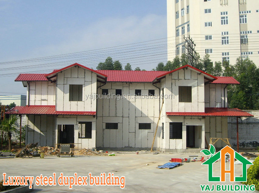 Low cost steel frame steel building design