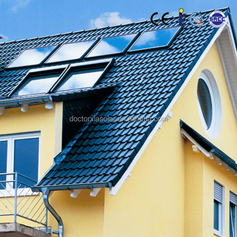 High Efficiency Flat Panel Solar Collector for Solar Water Heater Pool Project, manufacturer since 1988