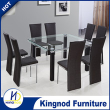 Home furniture modern style 8 Dining Chair and Table