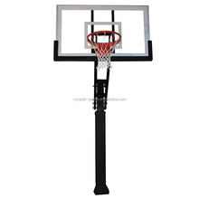 sport equipment fiber glass basketball backboard for basketball goal posts