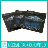 High Quality Hot Sell China Manufacture Ziplock Herbal Incense Package
