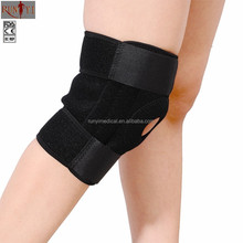 Knee sleeve Elastic Magnetic Waterproof Crossfit Open Patella Knee Support