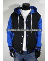 cotton hoodies sale men with leather America fashion