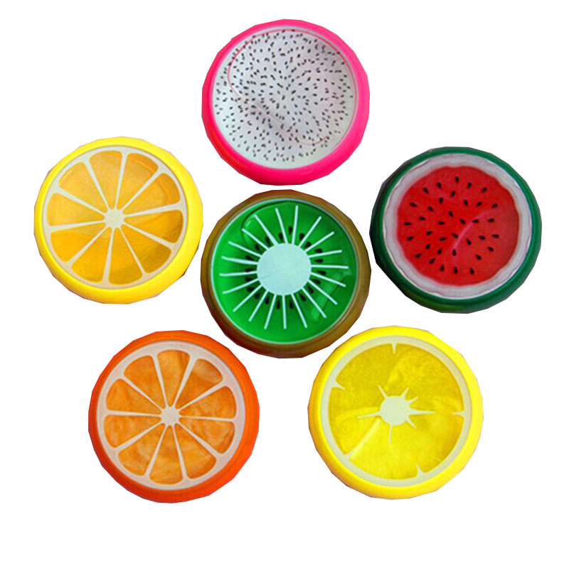 Wholesale 6 Colors/Pack Fruit Putty Toys DIY Magic Crystal Slime